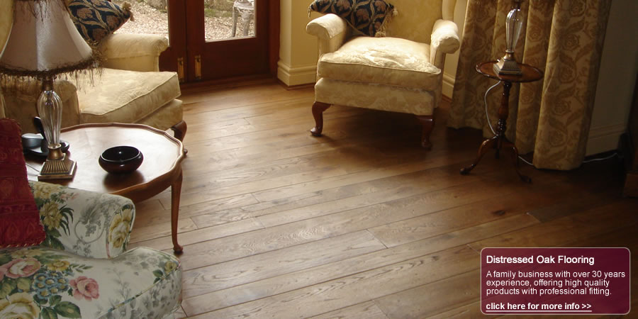 distressed oak